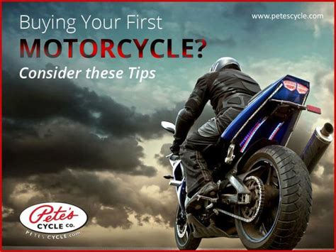 Tips To Choosing A Motorcycle Powerpoint Presentation