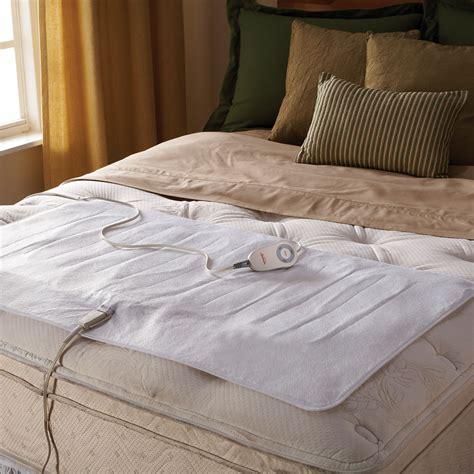 heated mattress pad king sunbeam 174 comfy toes king heated mattress pad