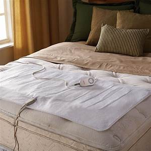 sunbeamr comfy toes heated twin full mattress pad With comfiest mattress topper