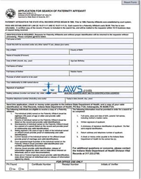 state of iowa paternity affidavit form form 54763 application for search of paternity affidavit