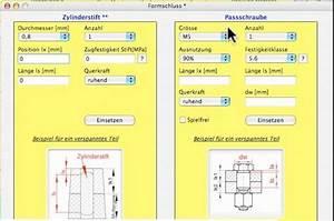Anzugsmoment Schrauben Berechnen : schraubenberechnung excel tabelle automobil bau auto ~ Themetempest.com Abrechnung