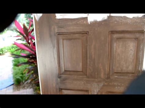 faux wood painting doors florida painting fake faux wood