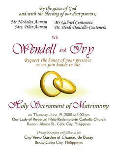 christian wedding invitation wording images