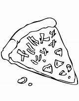 Pizza Coloring Pages Cheese Printable Slice Drawing Steve Clipart Grilled Sheet Cliparts Colouring Swiss Getcolorings Grandma Popular sketch template