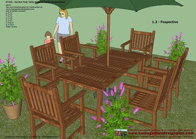 home garden plans gt garden teak tables