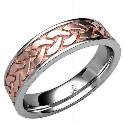 Celtic Knot Eternity Band Rybaltchenko Gold Ring