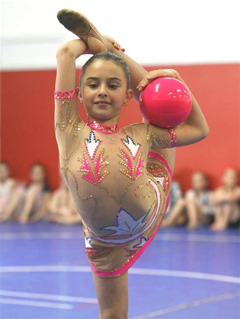 Girls Gymnastics Revealing Leotard
