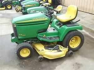 John Deere Gx345 Lawn  U0026 Garden Tractors For Sale