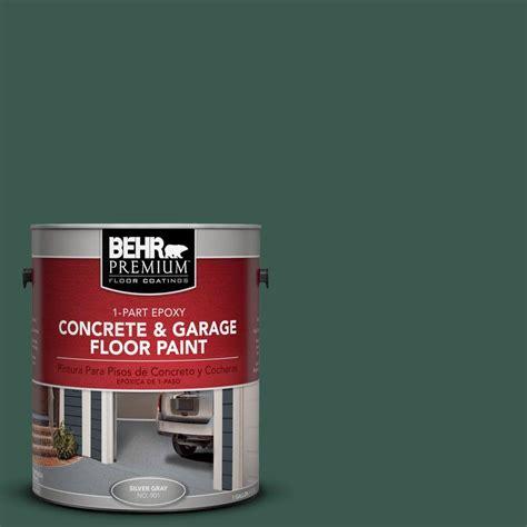 garage floor paint for patio behr premium 1 gal pfc 45 patio green 1 part epoxy concrete and garage floor paint 93001 the