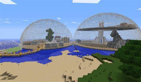 dome town screenshots show  creation minecraft forum dome towns screenshots