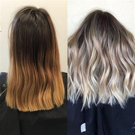 Ombré Hair Blond Polaire Alerte Tous Les Ombre Hair Les Plus Tendances De La Saison