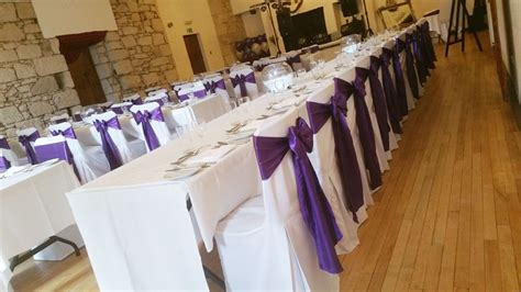chair cover hire in stirling falkirk and surrounding areas