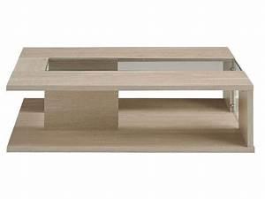 Table Basse Chene Clair : table basse luna coloris ch ne clair conforama pickture ~ Teatrodelosmanantiales.com Idées de Décoration