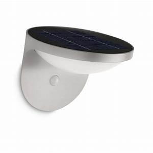 Applique Exterieur Led Avec Detecteur : applique d 39 ext rieur led dusk nergie solaire ~ Farleysfitness.com Idées de Décoration