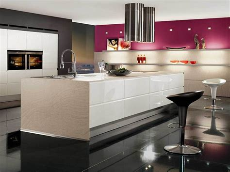 black white  pink kitchen decor decoist ideas