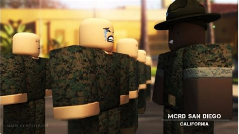 mcrd marine corps recruit depot san diego ca roblox