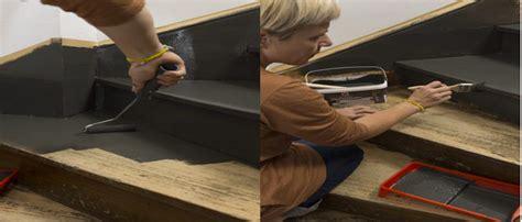 comment decaper un escalier peindre un escalier en bois avec la peinture r 233 novation v33