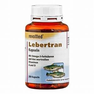 Vitamin D Dosierung Berechnen : revomed lebertran kapseln jetzt hier bei nu3 kaufen ~ Themetempest.com Abrechnung