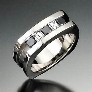 mens black diamond wedding rings wedding and bridal With men black diamond wedding ring