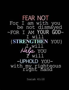 Christian Quotes On Fear. QuotesGram
