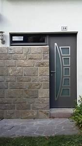 installation porte d39entree et chassis fixe aluminium a With porte d entrée alu avec convecteur electrique pour salle de bain