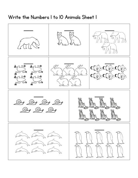 pre k number worksheets easy kiddo shelter