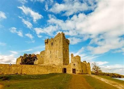 Hdr Fortress Castle Medieval Landscape Historically Landmark