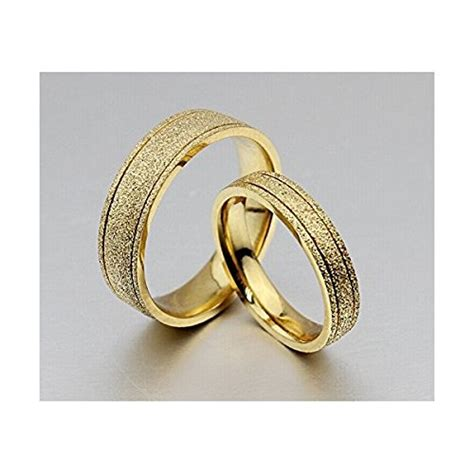 18k gold wedding ring uae the new titanium steel plated 18k gold wedding rings