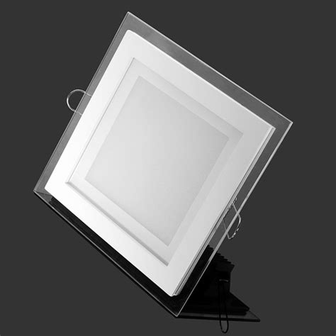 12w ultrathin square acrylic recessed led ceiling panel