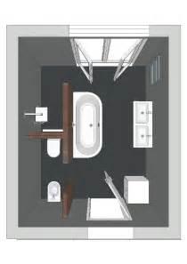 Badezimmer Grundriss Modern : ein badezimmer mit einer badewanne die auf drei seiten freisteht badezimmer badezimmer ~ Eleganceandgraceweddings.com Haus und Dekorationen
