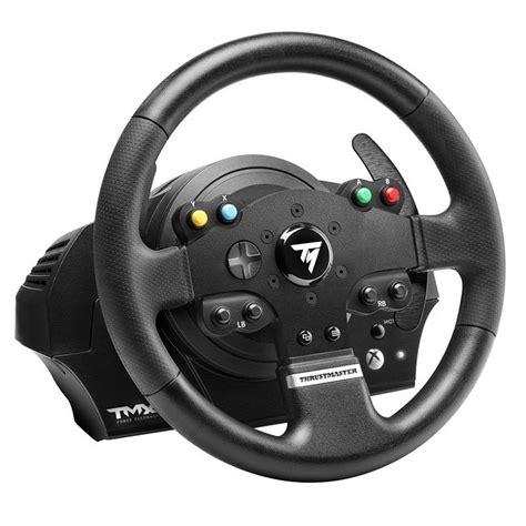 volante pc thrustmaster tmx feedback volant pc thrustmaster