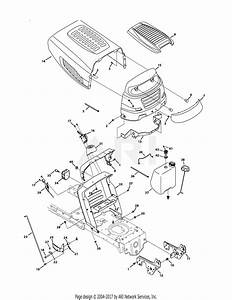 Mtd 13ax795s004  2011  Parts Diagram For Hood  U0026 Grille