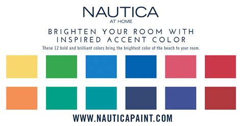 Accent Paint Colors From Nautica Paint