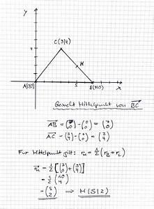 Mittelpunkt Dreieck Berechnen : dreieck vektorgeometrie in der ebene mittelpunkt klar wie gehe ich bei anderen verh ltnissen ~ Themetempest.com Abrechnung