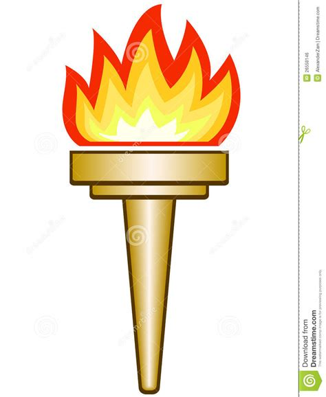 Torch Royalty Free Stock Image  Image 26558146