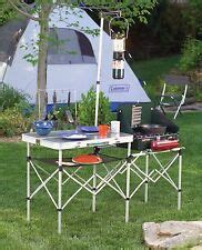Camping Kitchen Folding Outdoor Portable Cooking Table