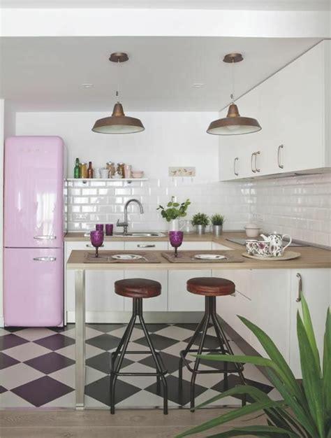 cuisine moderne noir et blanc vous cherchez des idées pour un carrelage noir et blanc