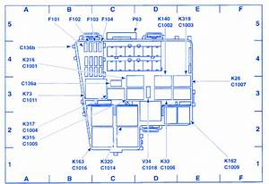 Lincoln Ls 2000 Auxiliary Junction Fuse Box  Block Circuit Breaker Diagram  U00bb Carfusebox