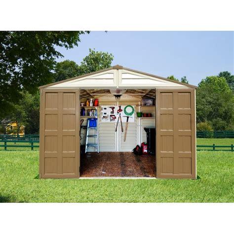 duramax  woodbridge  vinyl shed kit  foundation