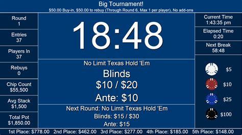 Poker Tournament Formula Spreadsheet inside The Tournament ...