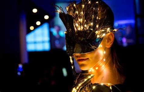 leds the future of lighting high fashion and led technology meet on the catwalk what