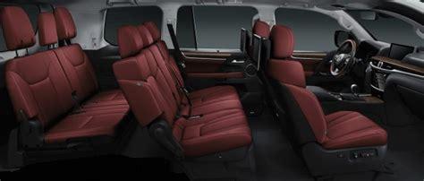 lexus lx interior image gallery lexus 570 seats