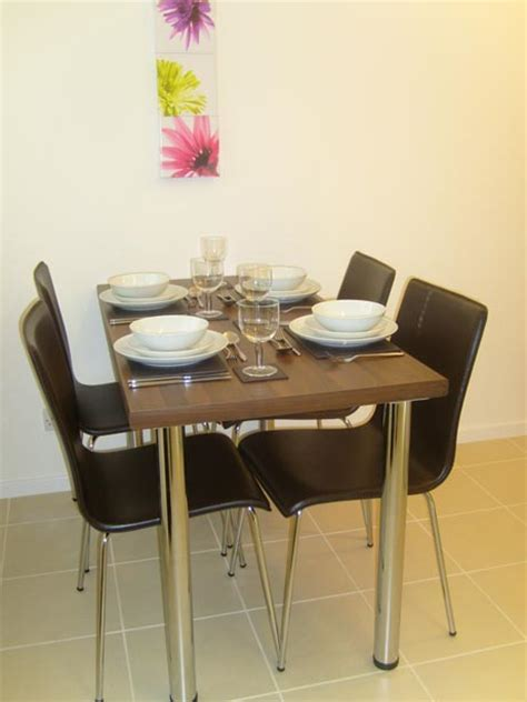 dining table dining table with hideaway chairs