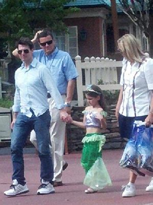 Tom Cruise, Suri Cruise Bond at Disney World : People.com