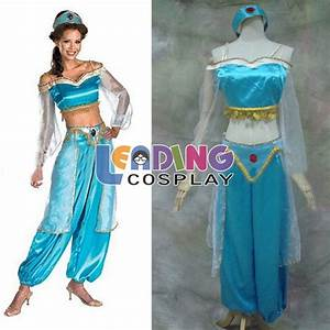 Princess Jasmine And Aladdin Costumes For Adults