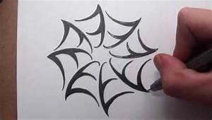 How To Draw a Spider Web - Tribal Tattoo Design Style ...
