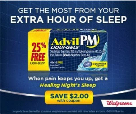 save   advil pm  walgreens
