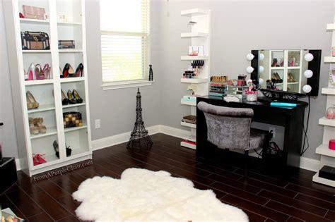 the vanity room miss liz makeup room room set up before
