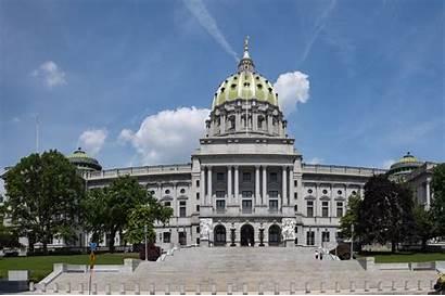 Pennsylvania Court Supreme Capitol State Building Trump
