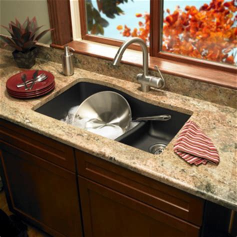 Swanstone QULS 3322 077 Granite Large/Small Undermount